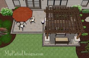Patio Layout Design by Brick Patios Designs