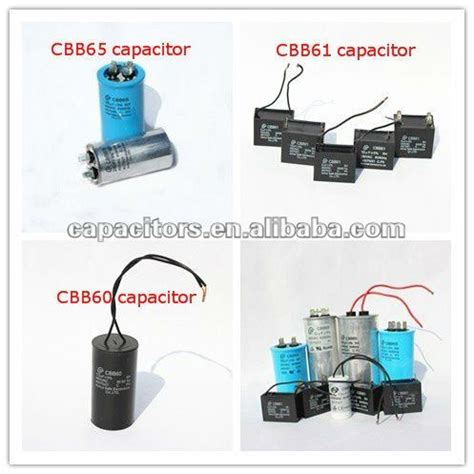 refrigerator run capacitor vs start capacitor 40uf refrigerator capacitor cbb65 440v ac buy cbb65 ac motor start capacitor metallized
