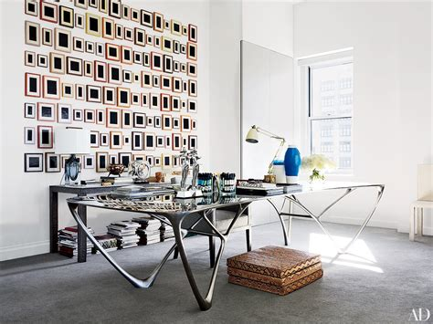 Home Office Designer offices of fashion industry insiders diane von
