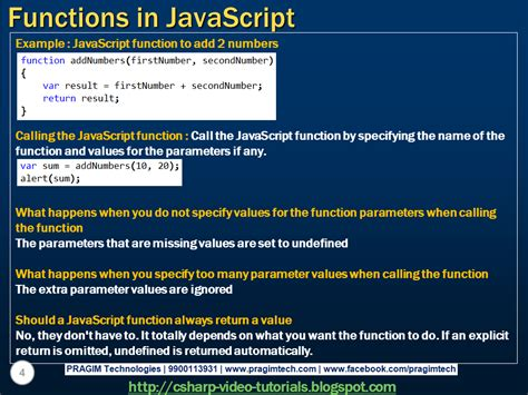tutorial javascript function sql server net and c video tutorial functions in
