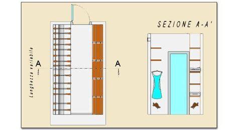 cabina armadio dimensioni minime cabina armadio pratica e funzionale