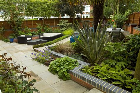 outdoor terrace large paved garden terrace with sunken paved area and