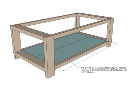 woodwork plans  rustic coffee table  plans