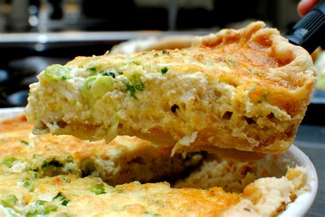 the church cook crabmeat quiche