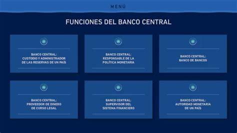 banco central de funciones banco central prestamostolypp
