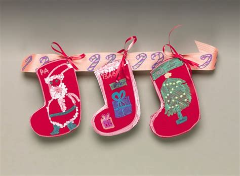 christmas stocking swag craft crayola com