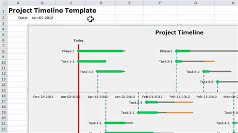 excel project timeline  simple steps