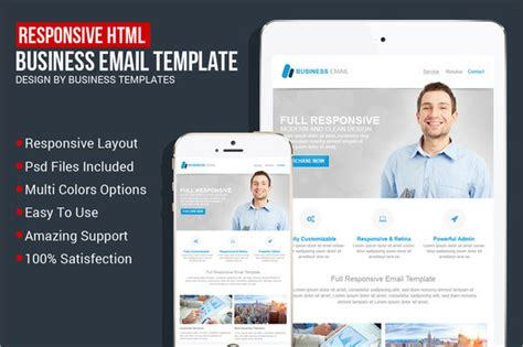 outlook html email templates 9 sle html emails psd