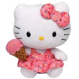 ty beanie baby kitty ice cream 6 bbtoystore toys plush trading cards