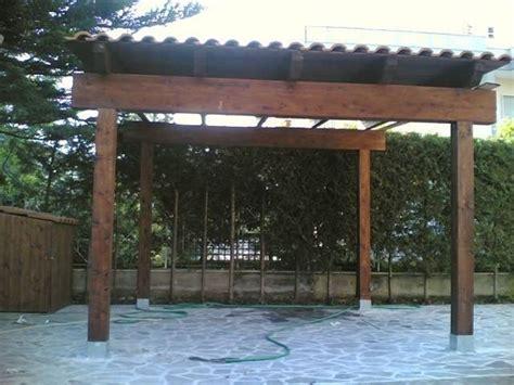 tettoie in legno e tegole tettoie in legno pergole e tettoie da giardino
