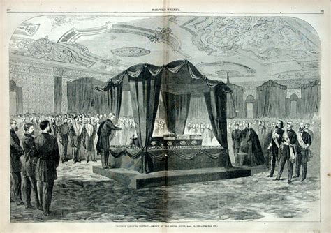 lincolns home state abraham lincoln lying in state in the white house green room