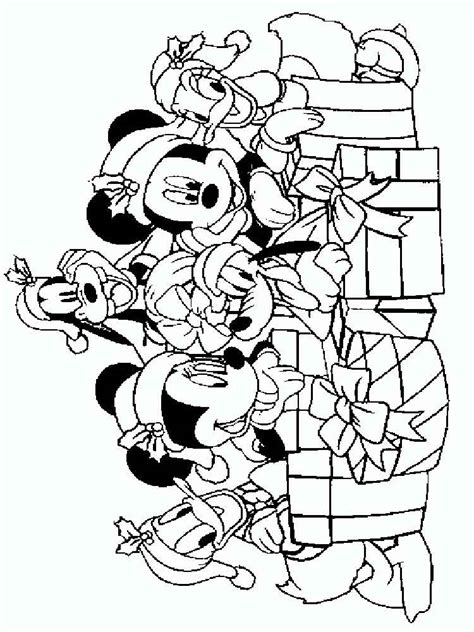 coloring pages christmas mickey mouse mickey mouse christmas coloring pages free printable