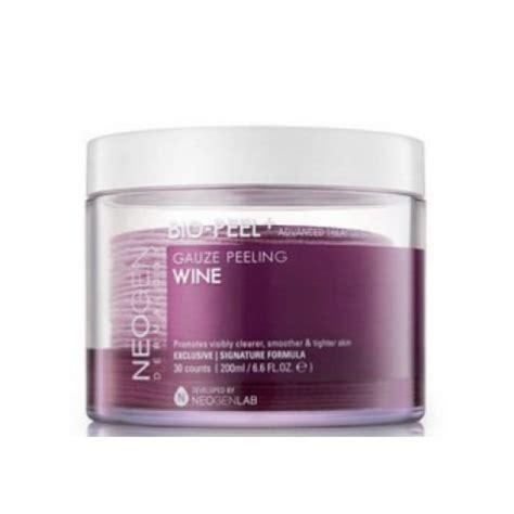 Neogen Biopeel Gauze Peeling Wine Box Korea Neogen Bio Peel Gauze Peeling Wine