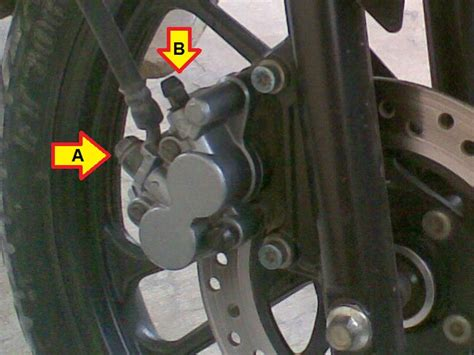 Minyak Rem Jumbo diy up grade daya cengkram rem cakram cs1 dengan selang rem racing motorgoodness