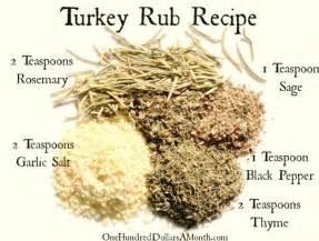spice rubbed turkey recipe dishmaps