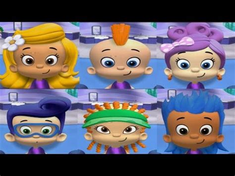 bubble guppies haircut game bubble guppies good hair day full characters hairstyles