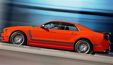 Four Door Mustang Price by 2014 Ford Mustang Sedan Classic Cars Today