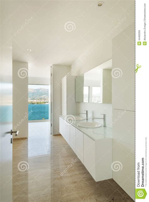home interior bathroom mirror and sink stock photo image interior modern bathroom stock photo image 44460260