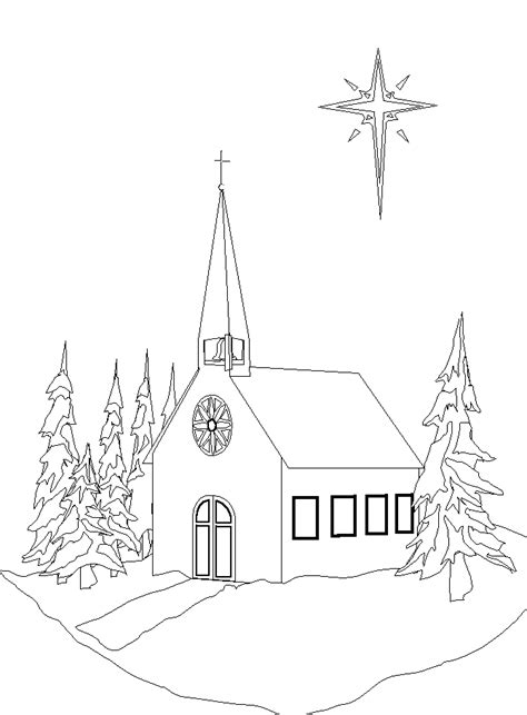 christmas coloring pages for children s church 1000 images about villages maisons etc on pinterest
