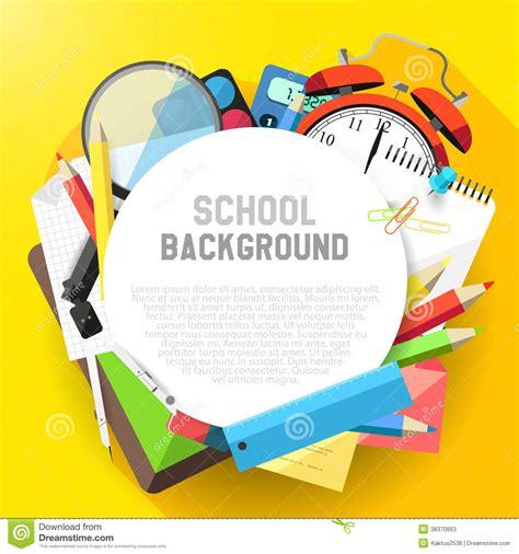 background design school school flat design background stock photos image 38370663