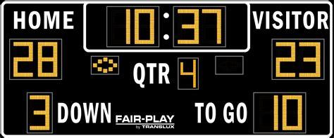 football scoreboard coloring page fb 8218 2 fair play scoreboards