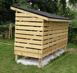 Wood Shed Building by How To Build A Firewood Storage Shed