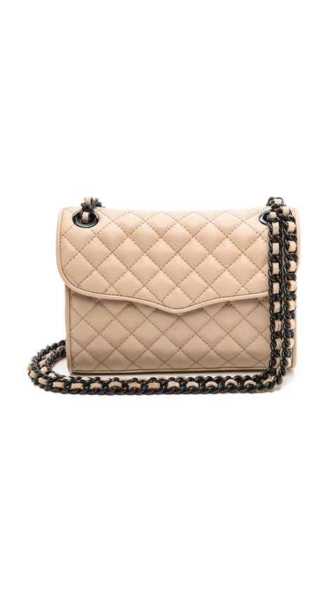 Minkoff Quilted Affair Mini by Minkoff Quilted Mini Affair Bag Latte In Beige