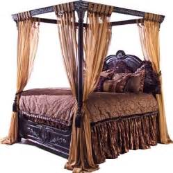 Canopy Bed With Curtains Antique Furniture And Canopy Bed Canopy Bed Curtains