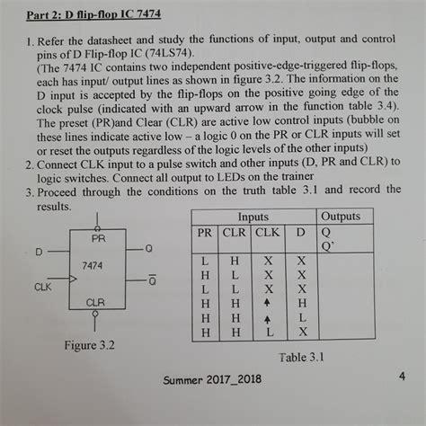 part   flip flop ic   refer  datasheet