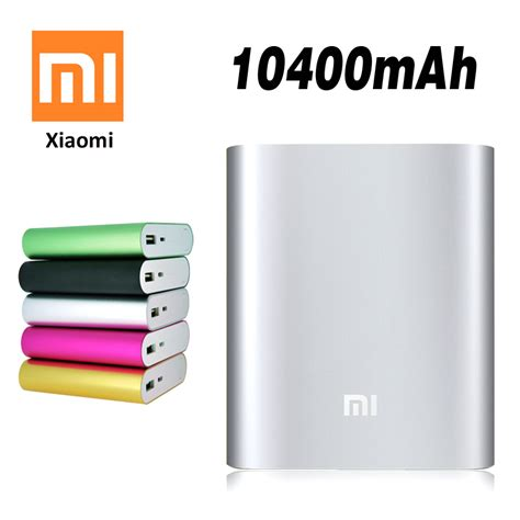 Power Bank Xiaomi Solar 2015 Hotsale Fashinable Large Capacity Solar Charger Xiaomi Power Bank 10400mah Compatable For