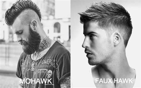Faux Mohawk Hairstyles by 7 Best Faux Hawk Haircuts For In 2018 The Trend Spotter