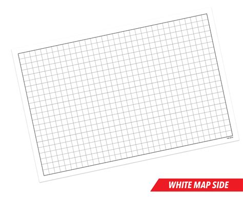 1 inch erase mat rpg battle grid mat 24 quot x 36 quot sided w