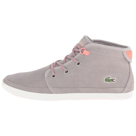 lacoste sneakers lacoste women s ziane chukka nso sneakers athletic shoes