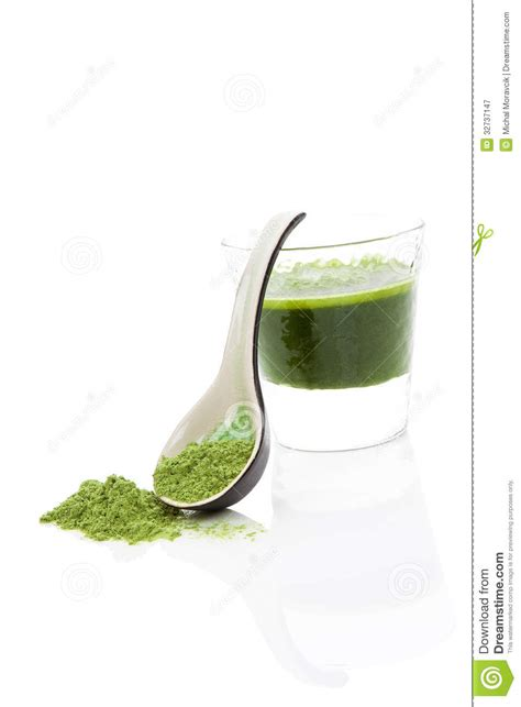 Wheatgrass Juice Powder For Mold Detox by Wheat Grass Drink Royalty Free Stock Photography Image