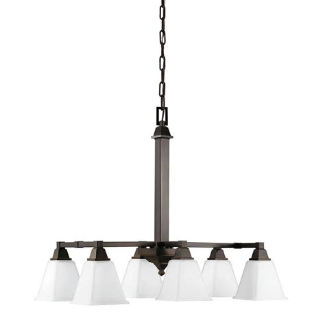 White Island Light Sea Gull Lighting Denhelm 6 Light Burnt Island Billiard Pendant With Inside White Painted