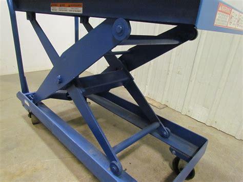 self leveling table heavy duty self leveling scissor lift cart 20 quot x40 quot table