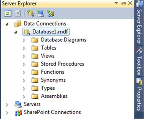 membuat database di visual studio 2010 membuat database pada visual studio 2010 irvan f panjaitan