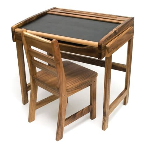 wooden art desk art desk with chalkboard top and chair