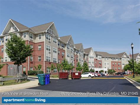 columbia appartments park view at snowden river apartments columbia md