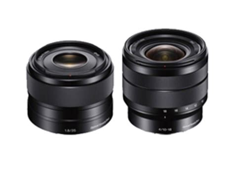 sony e 35mm f1.8 and sony e 10 18mm f4: a very good