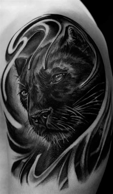 black panther tattoo design 100 panther tattoos that will you clawing at the