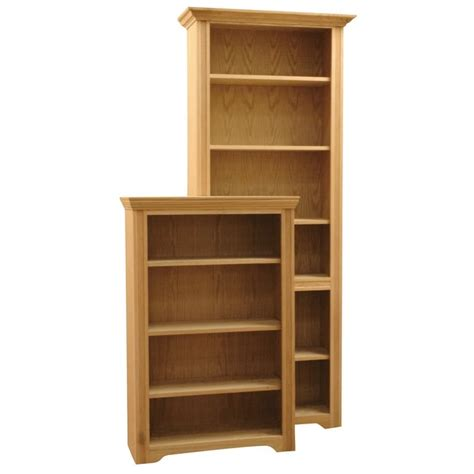 wrap molding wood bookcases