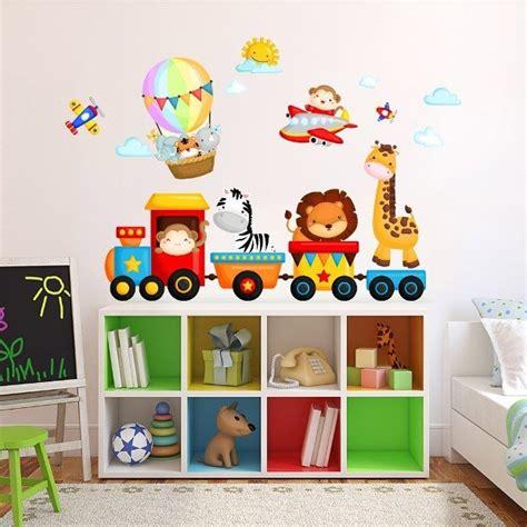 adesivi per mobili bambini adesivi murali per bambini 20 idee da acquistare