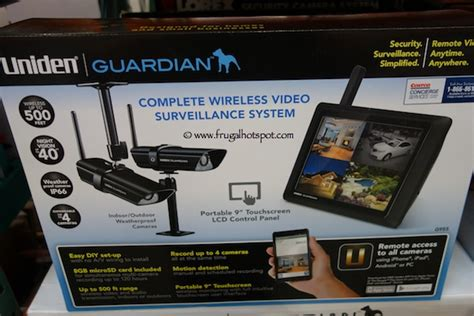 uniden guardian g955complete wireless surveillance