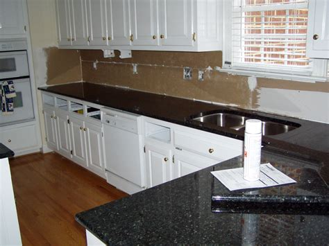 Kitchens With Black Countertops Black Kitchen Countertop Capitol Granite