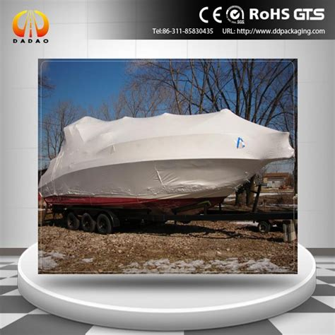 shrink wrap inflatable boat white color plastic boat shrink wrap view boat shrink