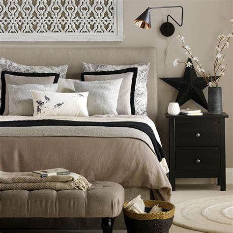 black and beige bedroom glamorous neutral and black bedroom decorating