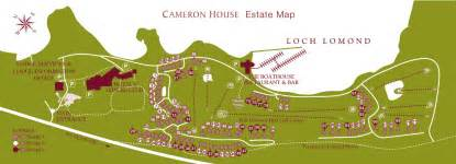 cameron house lodges carrick estate map in loch lomond