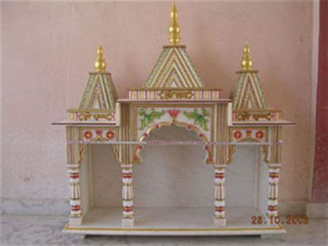 How To Decorate Mandir At Home by How To Make Thermocol Mandir At Home Studio Design