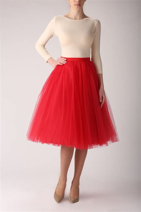 Handmade Tulle Skirt - items similar to tulle skirt handmade skirt
